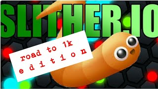 Play to Win Slither.io Obby in Roblox | Road to 1k Edition