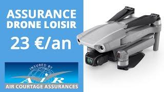 ASSURANCE DRONE LOISIR : Enfin une assurance pas chère adaptée !