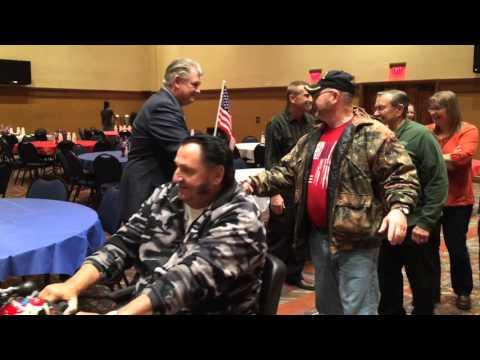 Meskwaki Bingo Casino Hotel • Veterans Day 2015