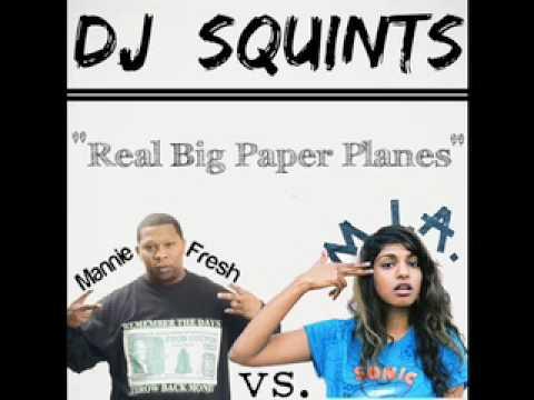 M.I.A. vs. Mannie Fresh - Real Big Paper Planes