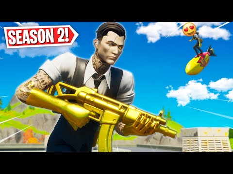 Fortnite Season 2 Is AMAZING!! *Gameplay + Battle Pass Tier 100* Fortnite Battle Royale
