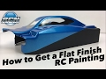 How to Get a Flat Finish on your RC Body - Pactra Paint Series EP3