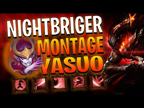 NIGHTBRINGER YASUO Montage - Best Yasuo Plays | League of Legends | RaKaSaMa