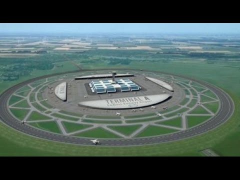 Could circular runways be the future of air travel? This man thinks so