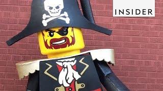 Man Makes Life-Size Lego Costumes