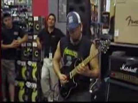 marc rizzo guitar center in flint mi.