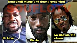 LA Lewis Dr Love & the STAR roasted by SOUFLOTV For dissing Sizzla