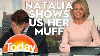Natalia shows off her Muff | TODAY Show Australia