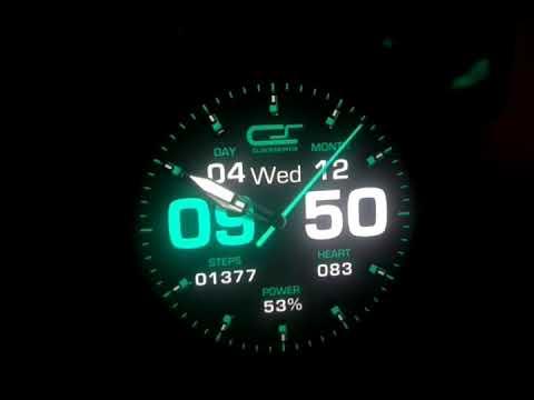 clockskin for zeblaze thor pro, full Android smartwatch