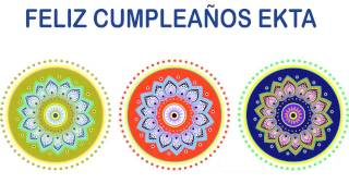 Ekta   Indian Designs - Happy Birthday