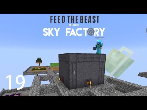 Sky Factory 3 w/ xB - EXTREME REACTOR [E19] (Minecraft Modded Sky Block)