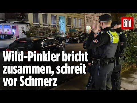 Hamburg: Mann pinkelt an Straßenrand und wird angeschossen