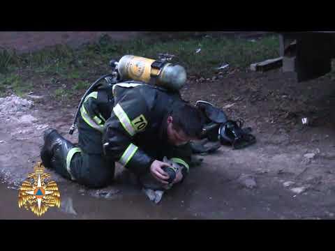 В Твери пожарный