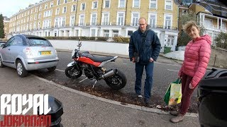 How do non-bikers react to the Husqvarna Nuda 900R