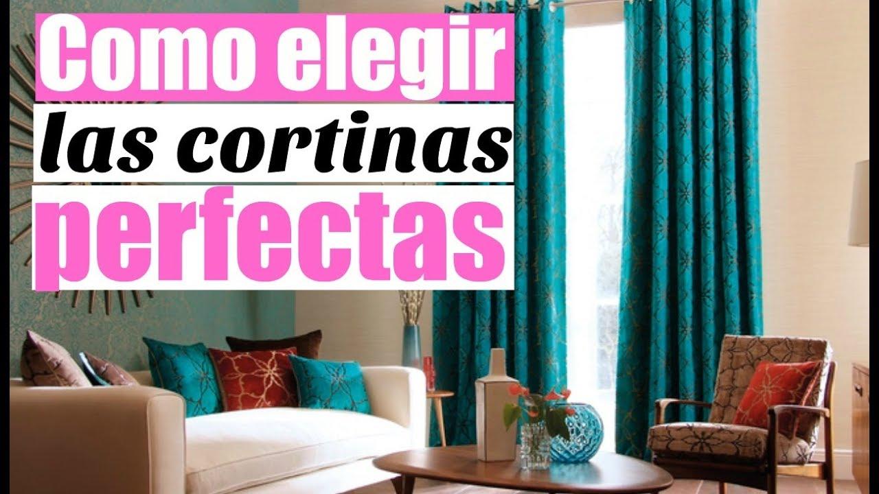 Como elegir las cortinas perfectas tips de decoraci n como decorar youtube - Como elegir cortinas ...
