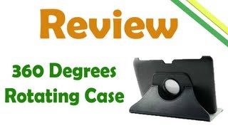 Review 360 Rotating Case for Galaxy Note 10.1