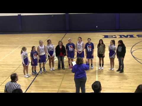 Everest Middle School Chorus 1 27 2014