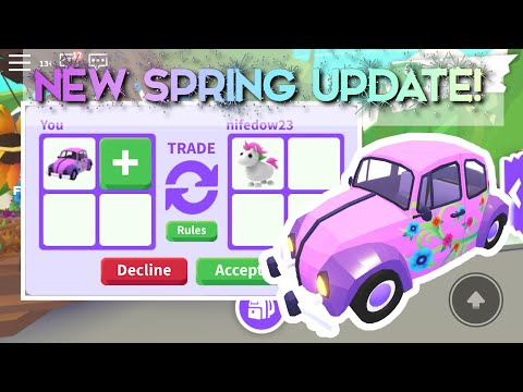What People Trade For Flower Wagon! Adopt Me Spring Update (Roblox)