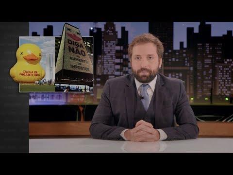 GREG NEWS com Gregório Duvivier | IMPOSTOS: #NÃOVAMOSLEVARNOTHORBA