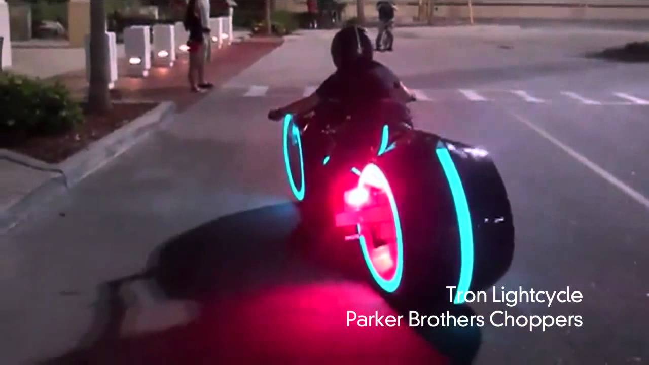 Electric Tron Lightcycle Is Street Legal Youtube