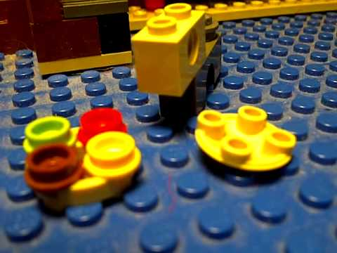 Lego Dogs: Jeffry Goes to the Krusty Krab