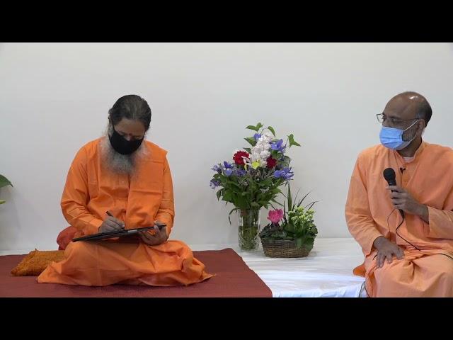 May 14, 2021 Morning Darshan with Paramahamsa Prajnanananda