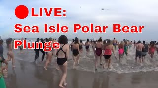 Sea Isle City Polar Bear Plunge 2019 (Full Video)🔴 LIVE!