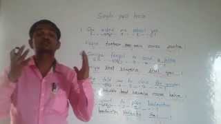 Hindi Grammar Lessons. Full course.  learn Hindi through English for beginners.