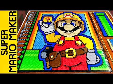 Super Mario Maker (IN 127,055 DOMINOES!)