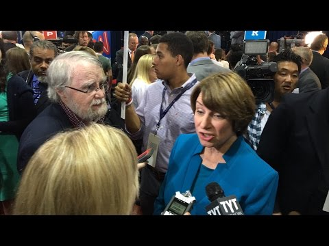 Sen. Amy Klobuchar Interview from VP Debate