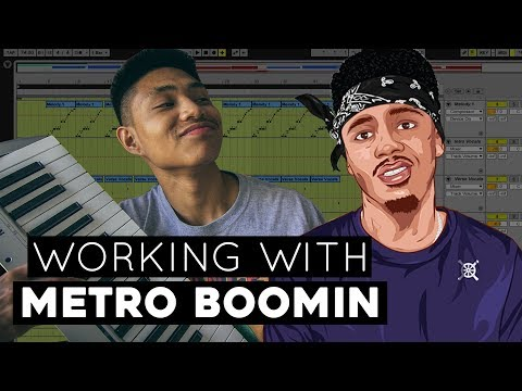 Working With METRO BOOMIN | (Sampling Blue Pill ft. Travis Scott)