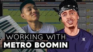 Working With METRO BOOMIN | (Sampling Blue Pill ft. Travis Scott)