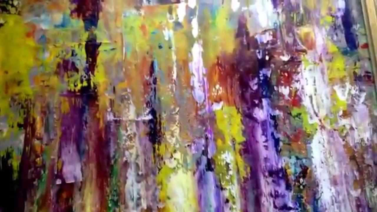 Gerhard richter style abstract paintings for sale youtube for Modern art paintings for sale