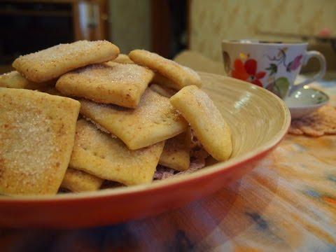 Творожное печенье с