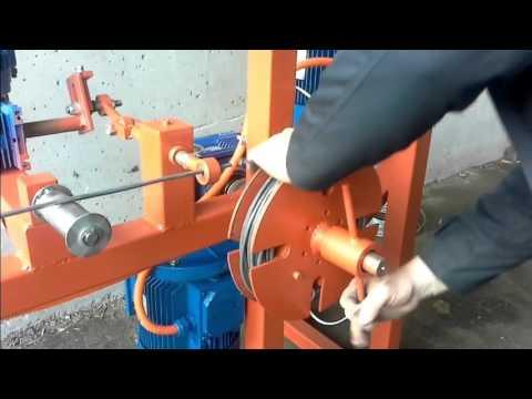 видео: Перемотка, намотка проволоки, кабеля в бухты.Станок перемотки.www.fox.bir.ru