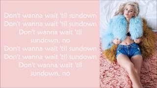 Zara Larsson ~ Sundown ft. Wizkid ~ Lyrics
