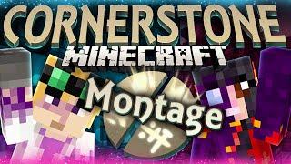 Minecraft Mods: Cornerstone -  FUNNY MOMENTS MONTAGE