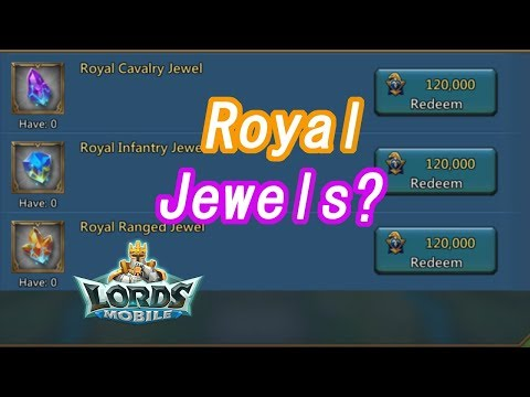 王國紀元 Lords Mobile -  The Power Of Royal Jewels?