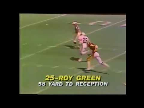 1981 NFL Today halftime report