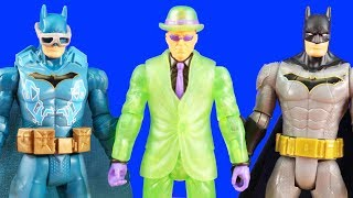 Batman Missions Batman Plays Hide And Seek With Riddler ! Toy Fun & Mashems