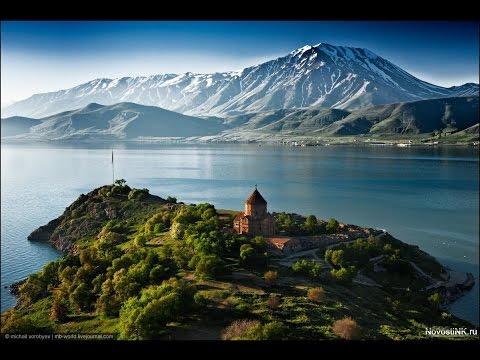Армения. Озеро Севан. Монастырь Севанаванк.