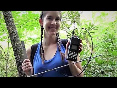 Kristen's WildLife - Radio Telemetry in Ten Minutes - Tracking a Spotted Skunk