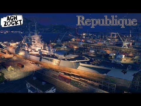 World of Warships - Republique #1 - Erster Eindruck: Durchwachsen [Deutsch]