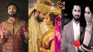 Koncham Istam Koncham Kastam Serial hero Sathish reddy Wedding photos   Tollywood Today