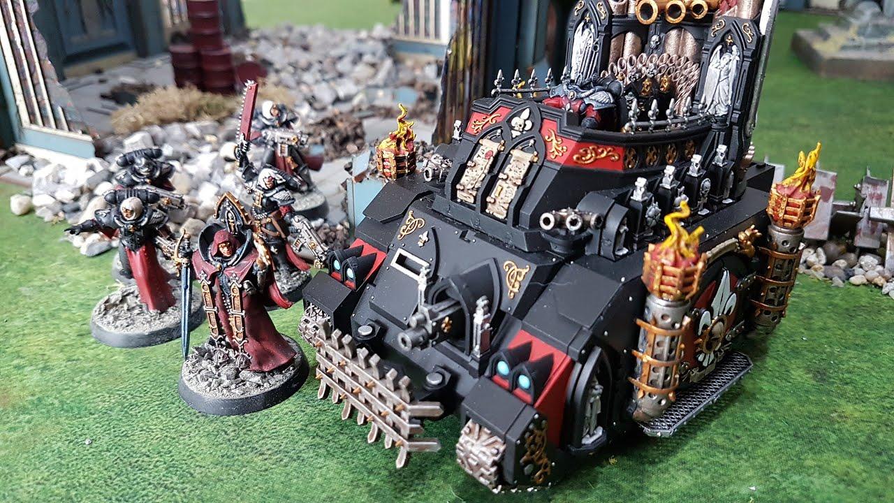 Orks v Sisters of Battle, Warhammer 40k battle report