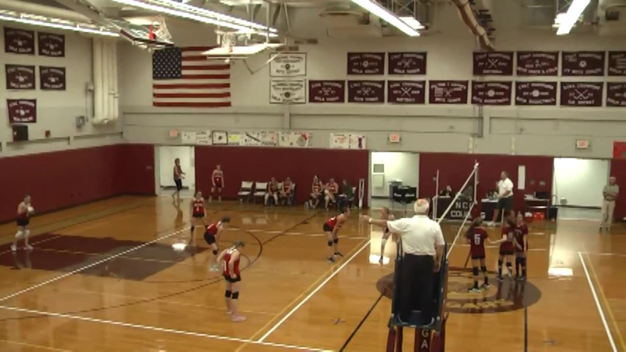 NCCS - Saranac Lake JV Volleyball  9-21-17