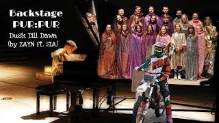 Backstage PUR:PUR/ Dusk Till Dawn (by ZAYN ft. Sia)/ Съемки клипа/ Подвиг Монатика
