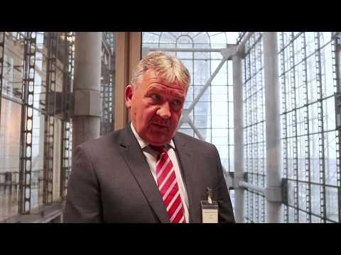 Peel Ports Group Strategic Projects Director, Gary Hodgson at London International Shipping Week