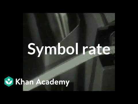 Symbol rate   Journey into information theory   Computer Science   Khan Academy