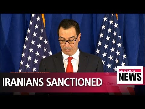 U.S. sanctions Iranian currency network connected to Iran's Revolutionary Guard